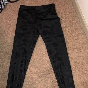 Black Cheetah Leggings